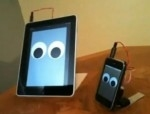 Walking iPad robot: L'iPad cammina!