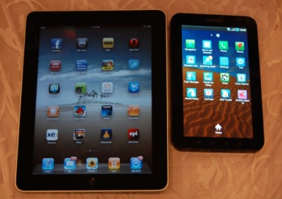 ipad 2 vs galaxy