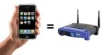 Usa l'iPhone come un router wireless per i portatili