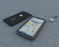 iphone e gps