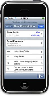 iPrescribe permette di prescrivere farmaci tramite iPhone e iPad in poche mosse