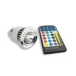 lampade led con remote control