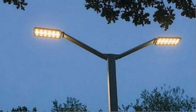 lampione a led