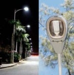 lampioni a led per illuminazione stradale