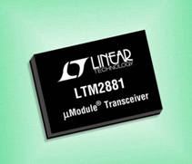 LTM2881/2882 kit di valutazione. Transceiver isolati µModule RS485/RS422/RS232