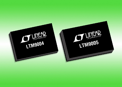 Ricevitori µModule da RF a digitale, LTM9004/5 della Linear Technology