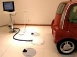 macchina elettrica ricarica wireless