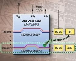 Programmazione in-circuit per MAX16065–MAX16068 e MAX16070–MAX16071