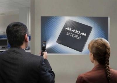 MAX3600, driver laser per proiettori