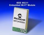 MRF24WB0MA/MRF24WB0MB - Moduli transricevitore RF, 2.4GHz, IEEE 802.11b della Microchip