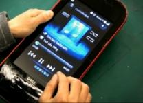 Netbook diventa un gigante cellulare Touch Screen