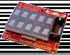 Freescale MC9S08QE8: realizzazione di un badge elettronico da parte di Ninja Networks per Defcon 17