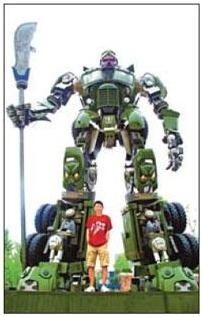 Robot Statua