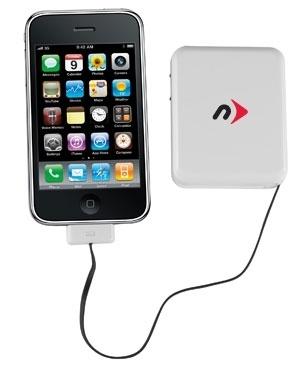 NuPower che permette di ricaricare, sincronizzare ed alimentare l'iPhone per non restare mai senza batteria