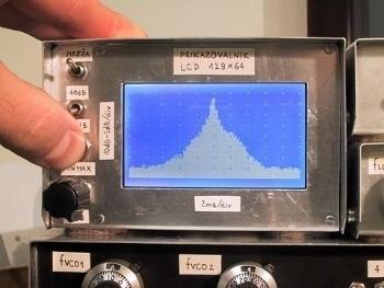 Oscilloscopio LCD per analisi di spettro 2/2