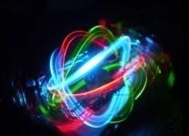 Palla 3-assi a LED