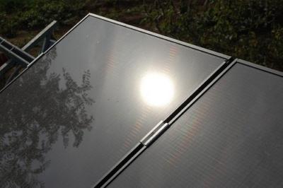 Pannelli fotovoltatici installati