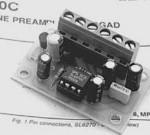 Preamplificatore microfonico con compressore