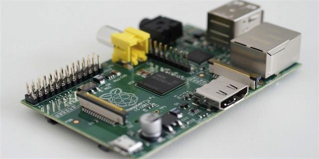 Raspberry PI 512 Mb RAM