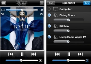 Remote 2.0 consente di controllare iTunes e Apple TV utilizzando iPhone, iPod touch o iPad