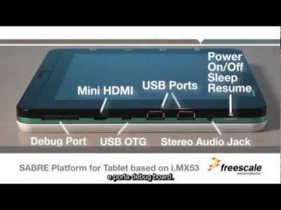 SABRE i.MX53 Freescale per Tablet