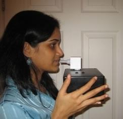 Il sensore per il fiato di Gouma analizza i livelli di particolari gas che sono indicatori di malattie come il diabete e il tumore ai polmoni
