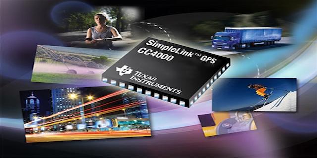 Simplelink GPS CC4000