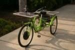 Triciclo a pannelli solari