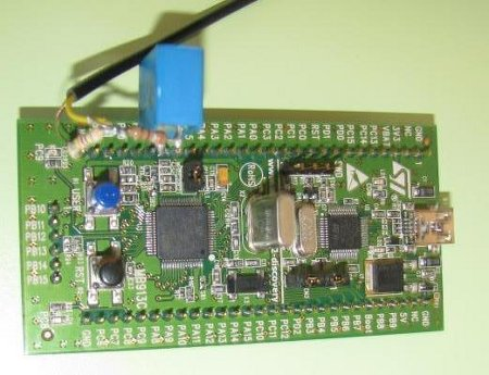 Recensione evaboard STM32-Discovery (CORTEX-M3)