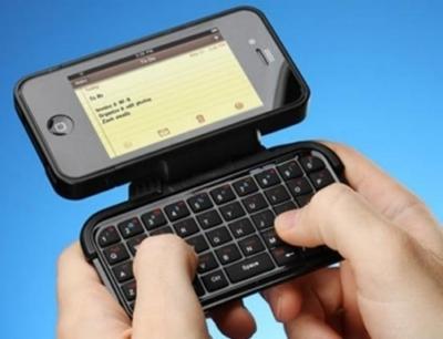Custodia per iPhone TK-421 con tastiera flipout