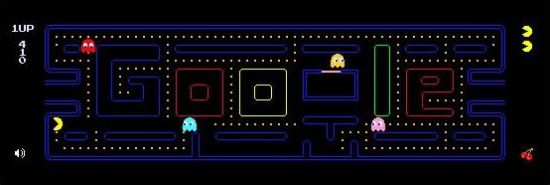 Pac Man flash game