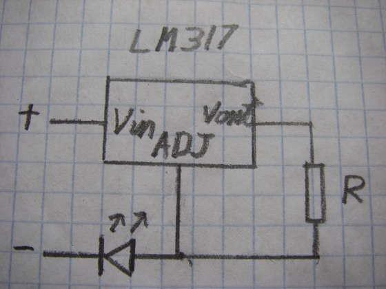 Lm317 regulator tutto su lm317t lm317k e gli altri for Costruire un temporizzatore 12v