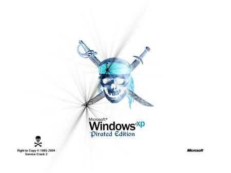 WindowsXP Pirated