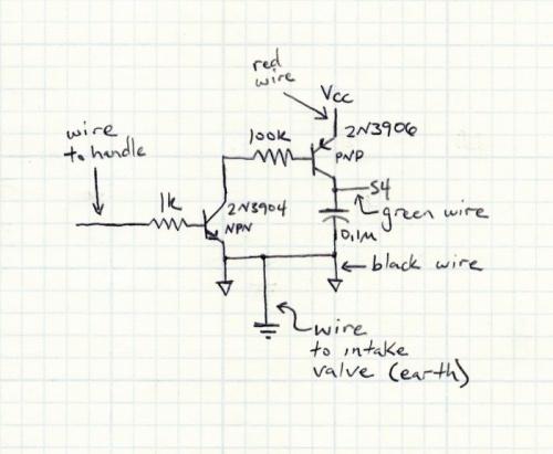 Schema Elettrico Per Metal Detector : L effetto sonoro di super mario bros elettronica open source
