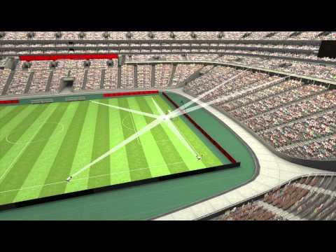 Goalref e hawk eye la rivoluzione del calcio qu - Dimensioni della porta da calcio ...