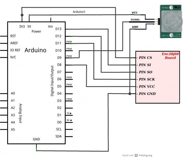 Schema Collegamento Open Collector : Iot collegare arduino online enc j elettronica