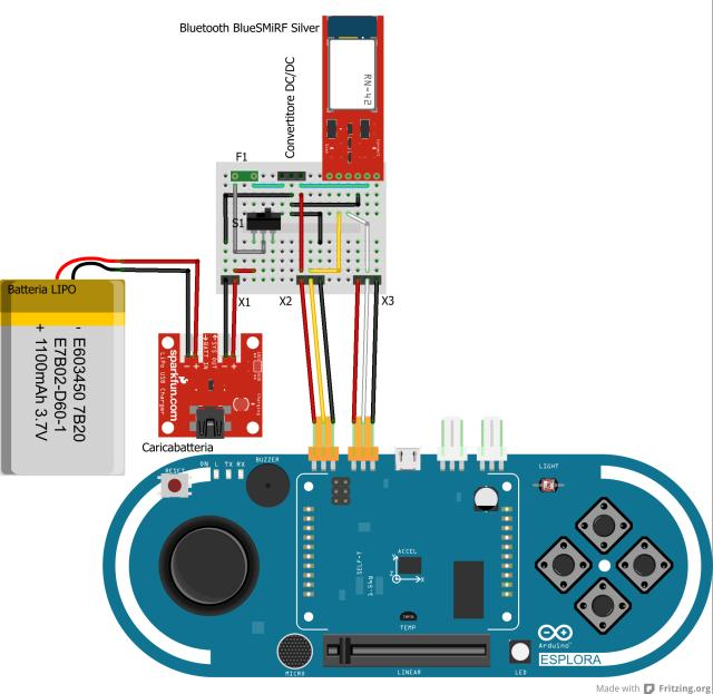 Schema Collegamento Open Collector : Dotiamo l arduino esplora dell interfaccia bluetooth