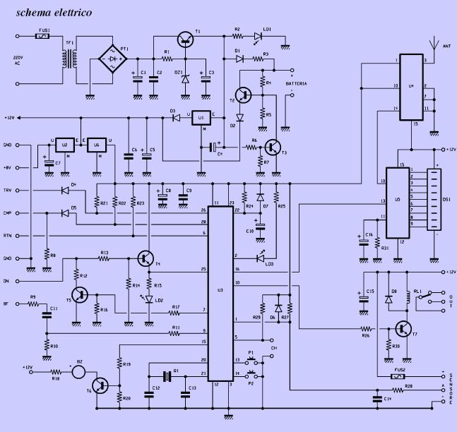 Schema Elettrico Per Xing : Allarme antifurto per la casa autos we