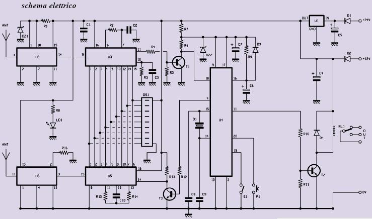 Schema Elettrico Cancello Automatico : Apricancello automatico elettronica open source