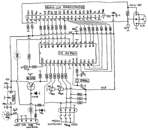 oscilloscopio lcd per analisi di spettro 1  2