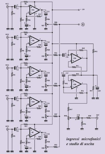 mixer_audio_schema ingressi_microfonici