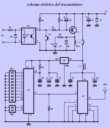 Schema Elettrico Per Apricancello : Schema elettrico ricevitore mhz fare di una mosca