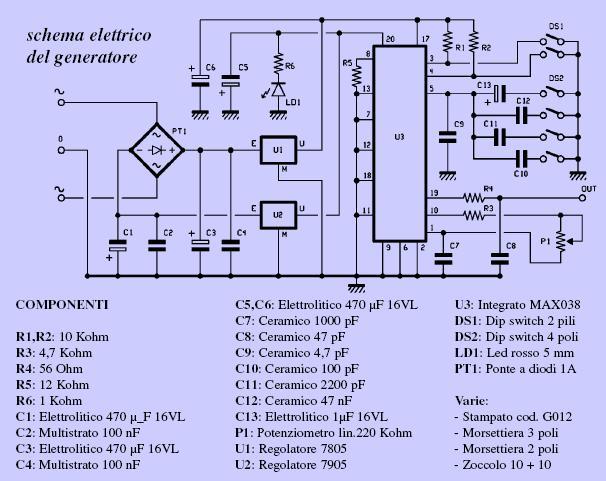 Schema Elettrico Per Fotocellula : Schema regolatore di tensione gruppo elettrogeno fare
