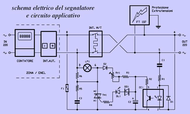 Schema Elettrico Per Interruttore : Schema elettrico per interruttore collegamenti elettrici