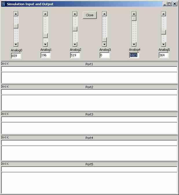 Simulatore per arduino elettronica open source