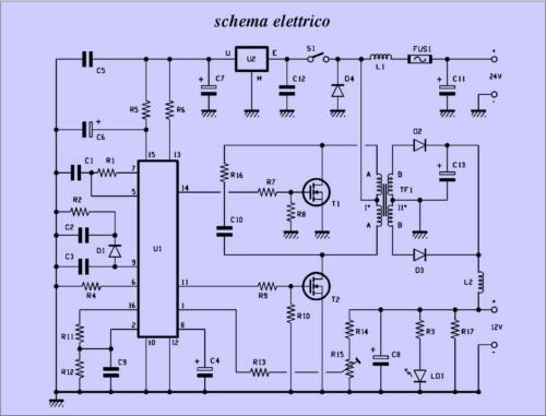 Schema elettrico tp4-20