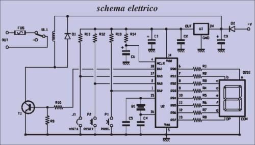 Schema Elettrico Per Temporizzatore : Schema elettrico temporizzatore fare di una mosca