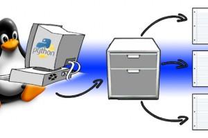 file system linux python