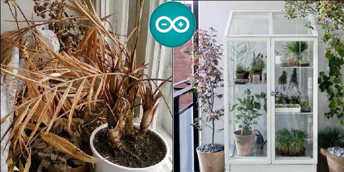 Progetto giardiniere gestire una serra domestica con for Piani di progettazione domestica