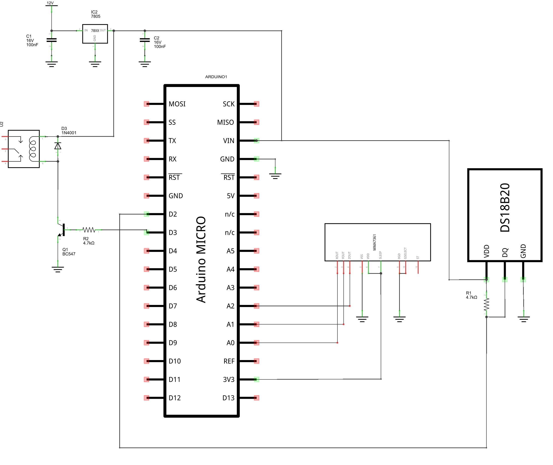 Schema Elettrico Za2 Came : Più sprint alla tua auto con arduino e processing